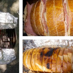 Awesome Camping Lunch Recipe: Grilled Ham & Cheese Sandwich Loaf