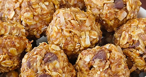Camping Snack Recipes No Bake Granola Bites