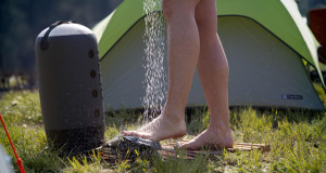 best camping shower