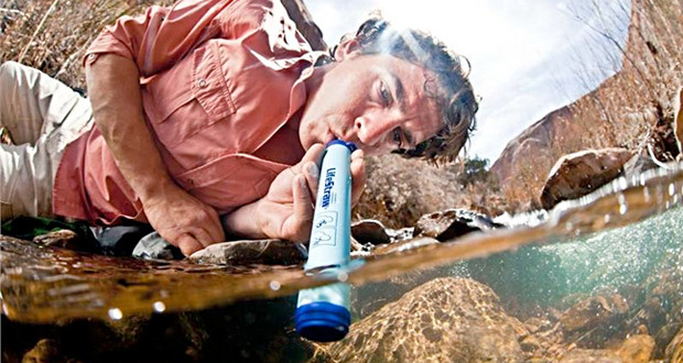 water filtration straw