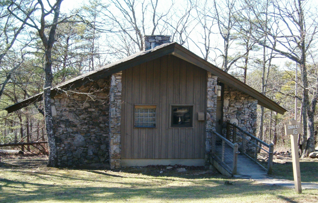 Talladega Scenic Byway Cheaha Chalet