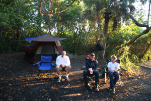 camping in the coastal everglades