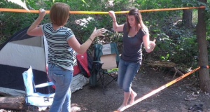 The Slackers Slackline Kit Will Be A Hit At Any Campsite
