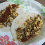 Chorizo and Scrambled Egg Tacos A Delicious Camping Breakfast