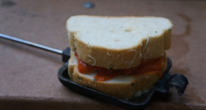 Pie Iron Sandwich