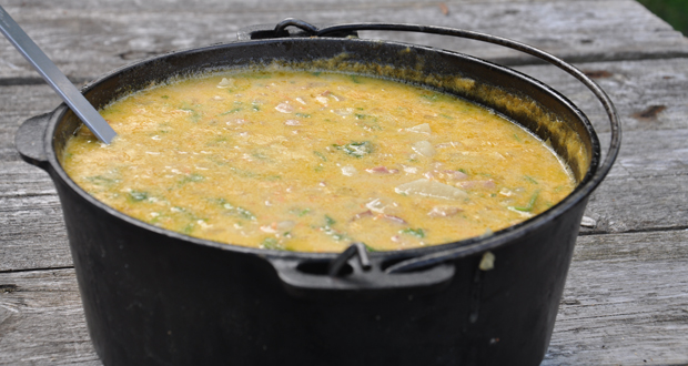 Easy camping potato soup recipe 50 campfires forumfinder Choice Image