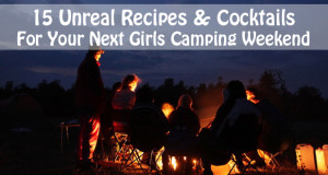 girls camping weekend