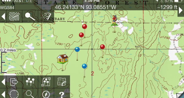 The Best GPS App For IPhone Campfires - Topo maps app for iphone
