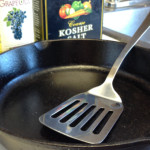 How To Clean Cast Iron Without Water