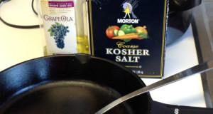 Oil for cast iron cooking