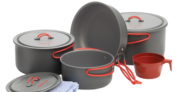 Coghlan's Carbon Steel Cookset