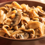 Dutch Oven Hamburger Stroganoff