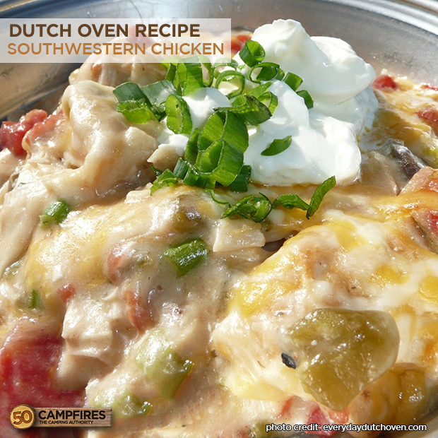 dutch oven southwestern chicken