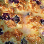 Dutch Oven Lemon Blueberry Biscuits
