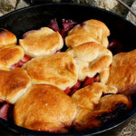 Dutch Oven Peach and Berry Cobbler Recipe