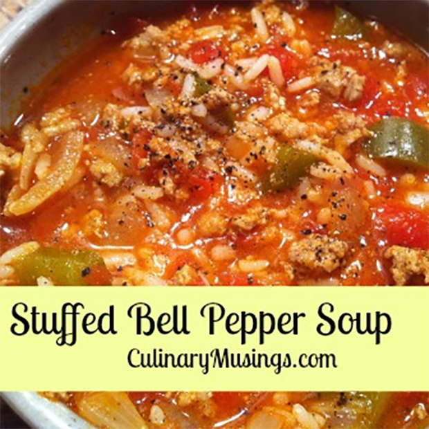 Stuffed Bell Pepper Soup In The Dutch Oven50 Campfires