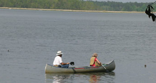 Three Rivers State Park Boat