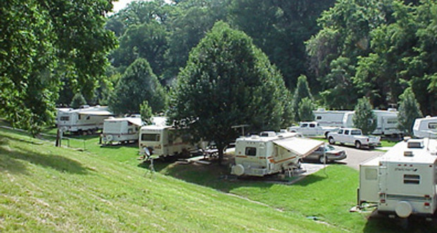 Camping Grand Gulf Military Park Campground