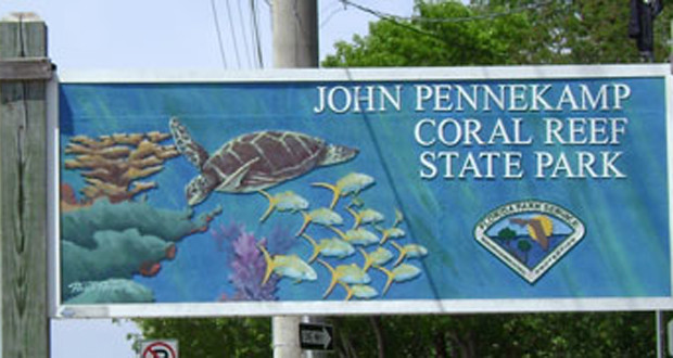 Camping john pennekamp coral reef state park in south for John pennekamp state park cabins