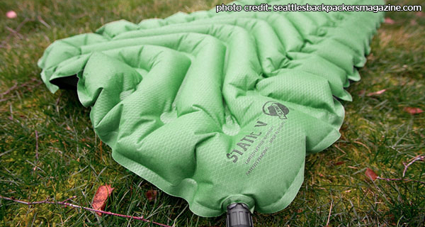 Klymit Static V Provides A Great Night Sleep 50 Campfires