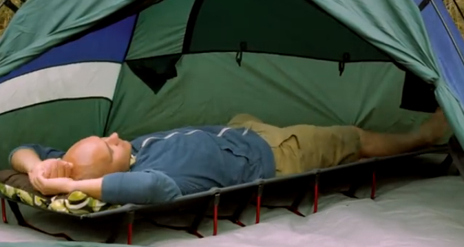 The Travel Chair Sleeprite Cot Will Have You Sleeping Like