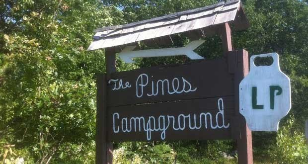 The Pines Campground Massachusetts