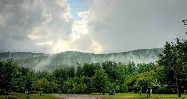 Camping at Allegany State Park in Western New York