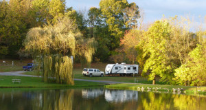Camping at Walnut Hills KOA Campground