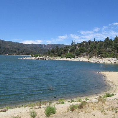 Lake Hemet in California