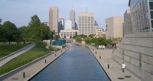 Cultural Urban Experience at White River State Park In Indianapolis