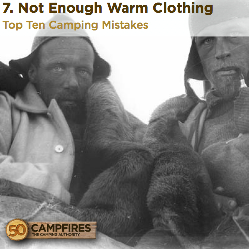 Not Enough Warm Clothing