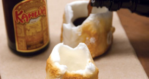 kahlua roasted Marshmallow Shots