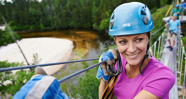 Camping at Adventures Unlimited plus Ziplining and much more!