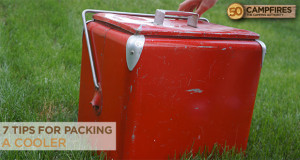 7 tips for packing a cooler