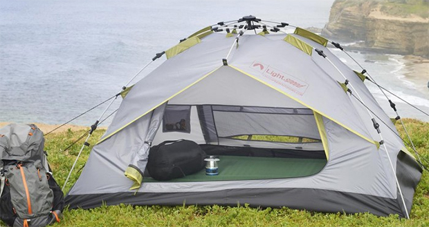 & Lightspeed Outdoors Stratton 2 Backpacking Tent Review - 50 Campfires