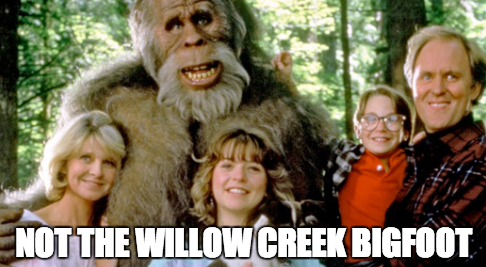 Not The Willow Creek Bigfoot