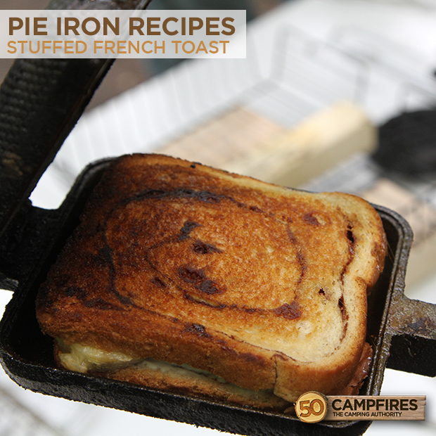 Easy Breakfast Ideas For Camping Stuffed French Toast