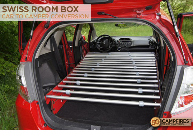A Car To Camper Conversion With The Swiss Room Box