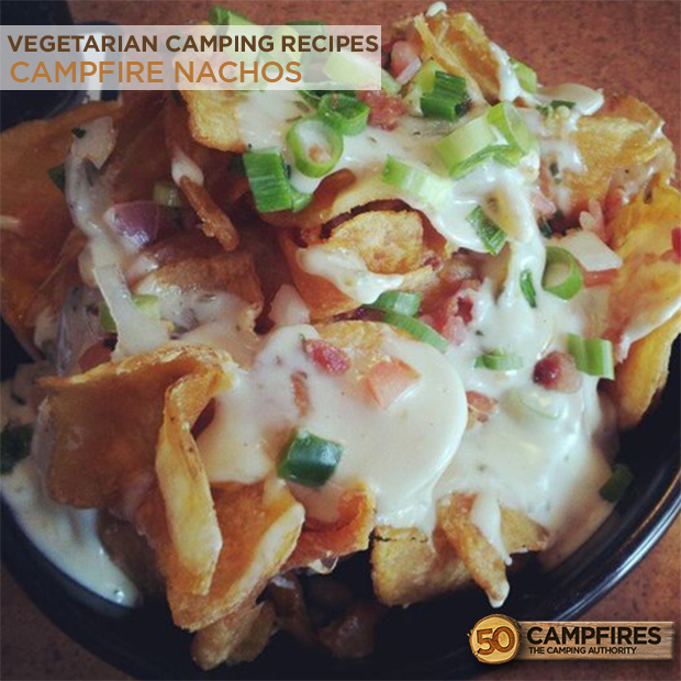 The 10 best vegetarian recipes for camping 50 campfires 4 campfire nachos forumfinder Images