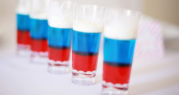 July 4 Coloring Pictures : 4th of july shots: cake vodka milkshake shot 50 campfires