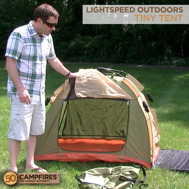 Lightspeed Outdoors Tiny Tent Overview