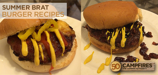 Summer Brat Burger Recipes