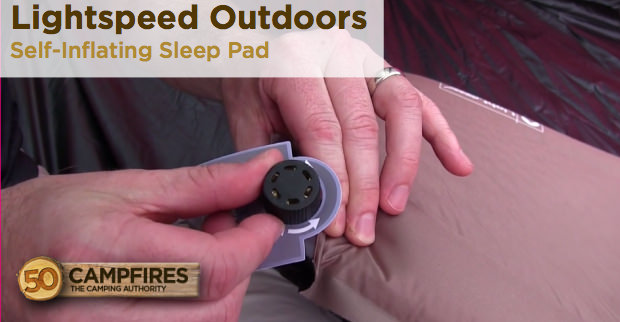 LightSpeed Outdoors Sleep Pad