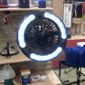 stansport camping lantern with fan