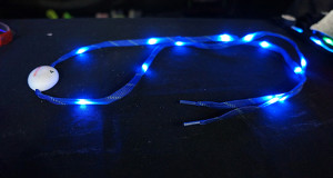 nite beams LED shoelaces