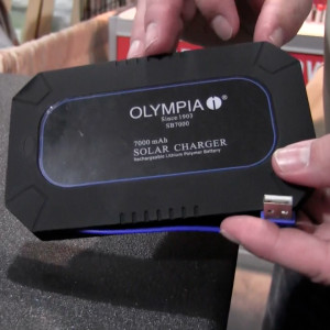 olympia solar charger pack