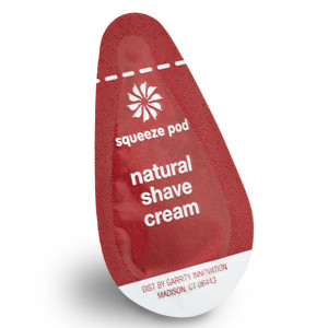 Squeeze Pod Natural Shave Cream