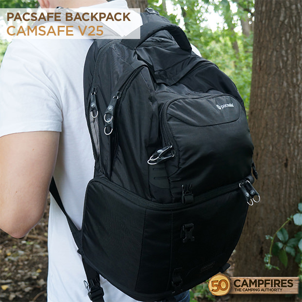 pacsafe camsafe V25 backpack
