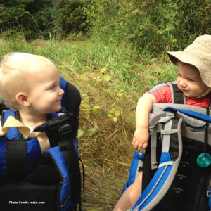 hiking with babies