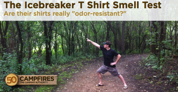 ice breaker t shirt smell test